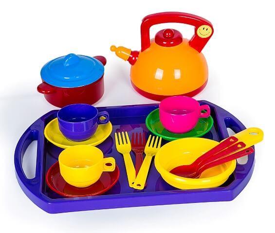 Игровой набор посуды Юная хозяюшка  048/8 Bamsic