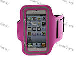Армбенд, спортивный чехол Iphone 5 5C 5S, розовый, фото 3