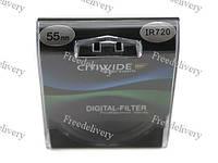 Инфракрасный ИК IR фильтр 55мм 720нм CITIWIDE