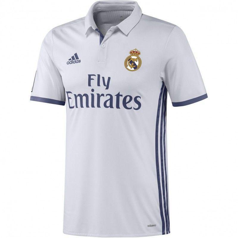 Футбольная форма Реал Мадрид домашняя (2016-2017), Adidas, Клуб, Взрослая f951c3b86bc