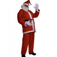 Оригинальный новогодний костюм Деда Мороза взрослый, новый год 2015, Санта Клауса, Santa Claus