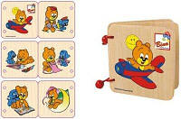 Книжка с рисунками - ведмедь Пусик, 13401, Bino, фото 1