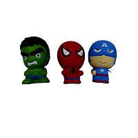 Сквиши-антистресс  Супергерои маленькие (13-1)