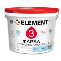 ELEMENT 3 водно-дисперсионная латексная краска 1л