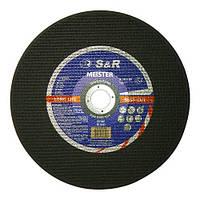 Круг отрезной S&R MEISTER 300 x 3,0 x 32 мм (металл) (131030300)