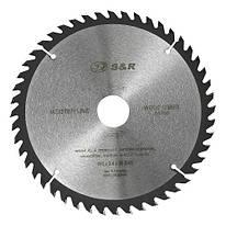 Диск пильный 190 х 30 мм S&R WoodCraft 48 зубов (238048190)