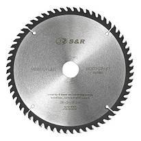 Диск пильный 230х30 мм S&R WoodCraft 60 зубов (238060230)