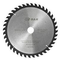 Диск пильный 250х30 мм S&R WoodCraft 40 зубов (238040250)