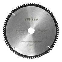 Диск пильный 250х30 мм S&R WoodCraft 80 зубов (238080250)