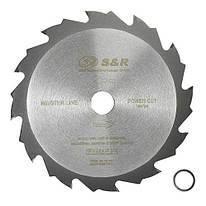 Диск пильный 160х20 мм S&R Power Cut 12 зубов (241012160)