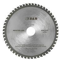 Диск пильный 190х30 мм S&R Uni Cut 54 зуба (243054190)