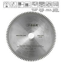 Диск пильный 254 x 30 мм S&R Uni Cut 96 зубов (243096254)
