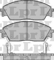 Тормозные колодки передние для Honda Accord /Concerto/Prelude