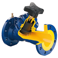 Клапан фланц., с невыдвижным штоком ZЕТКАМА тип 447, Ду 80