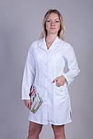 Красивый молодежный медицинский халат ткань габардин