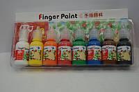 Краски пальчиковые 8цв/30мл №0830RFC