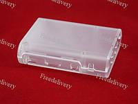 Корпус, кейс для Raspberry Pi B+ 2 2B, прозрачный