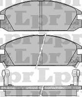 Тормозные колодки передние для Hoda Accord 2.0  c 1985--1989