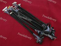 Набор из 18 LVDS кабелей, шлейфов для матриц 14-26
