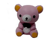 Сквиши-антистресс Розовый Мишка (10-2)