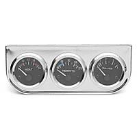 2 дюймов 52 мм хромированный вольтметр + водяной термометр + манометр давления масла - 1TopShop