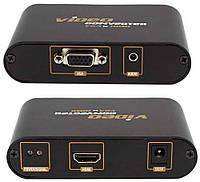 Конвертер VGA to HDMI 1080p + Audio