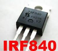 Транзистор полевой IRF840 N-CH 500V 8A К-220AB