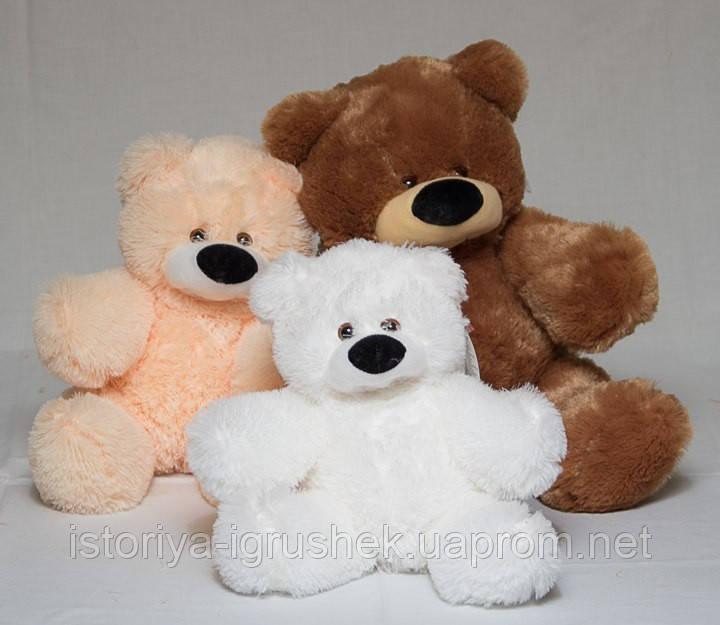 Медведь сидячий Бублик 45 см (цвета в ассортименте)