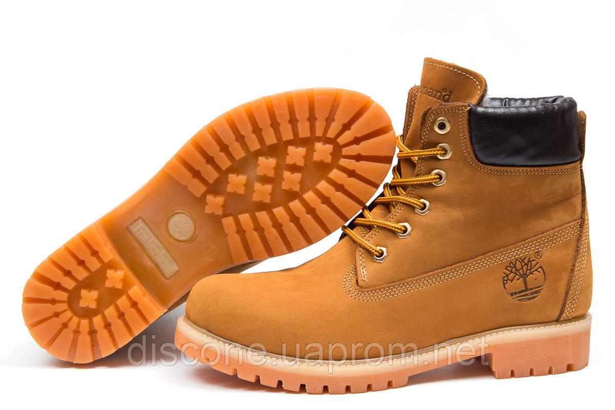 Зимние ботинки на меху ► Timberland 6 Premium Boot,  рыжие (Код: 30651) ► [  40 (последняя пара)  ] ✅Скидка 46%