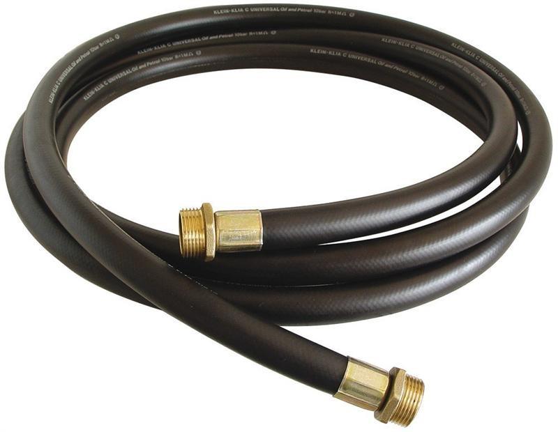 Напірний Шланг для дизельного палива з різьбовими з'єднаннями 1 BSP, 4 метри