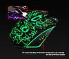 Игровая мышь мишка USB 2400DPI мышка компьютерная оптическая черная LED windows x5 IMICE, фото 6