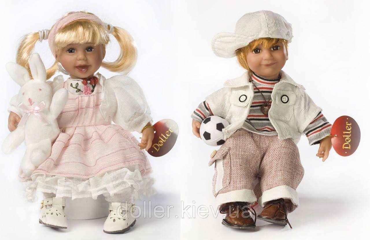 Ляльки дитячі Емма і Лео (парочка)