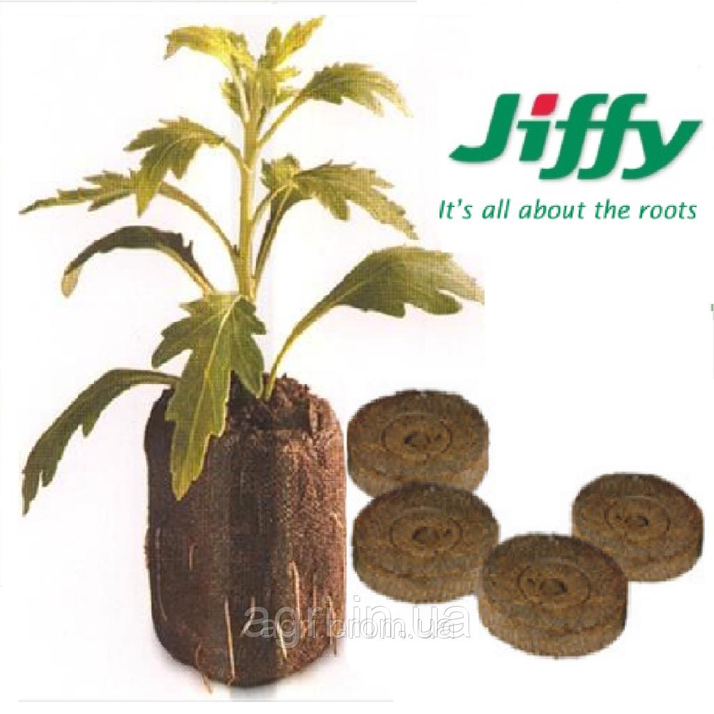 Торфяные таблетки JIFFY, 24мм. Норвегия.