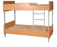 Кровати металлические двухъярусные от мебельной фабрики, купить кровать в интернет-магазине