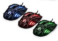 Игровая мышь мишка USB 2400DPI мышка компьютерная оптическая черная LED windows X9 Imice