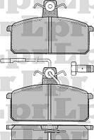 Тормозные колодки передние для Lancia Prisma
