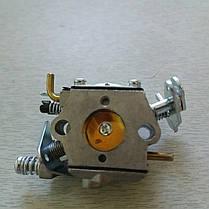 Карбюратор бензопилы PARTNER 350,352,Poulan 2150, фото 3