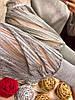 Туника, гладкая машинная вязка с кружевными рукавами. Размер: 42-46. (0137), фото 2