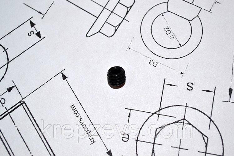 Винт М1.6 DIN 914 прочностью 10.9
