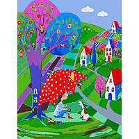 Картина по номерам Дети - В ожидании дождя КНО2317