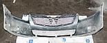 Декоративно-защитная сетка радиатора Mitsubishi Galant 2004-  фальшрадиаторная решетка, бампер, фото 3