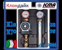 Icma Высокотемпературная насосная группа с насосом ALPHA 2L 25/60
