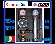 Высокотемпературная насосная группа Icma с насосом ALPHA 2L 25/60