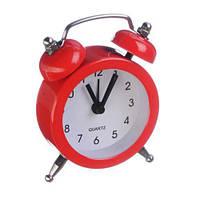 Ретро будильник мини 8802 красный