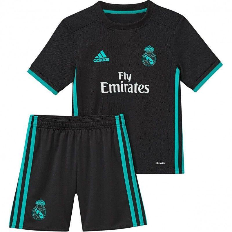 Детская футбольная форма Реал Мадрид выездная (2017-2018), Adidas, Клуб, 474df108345
