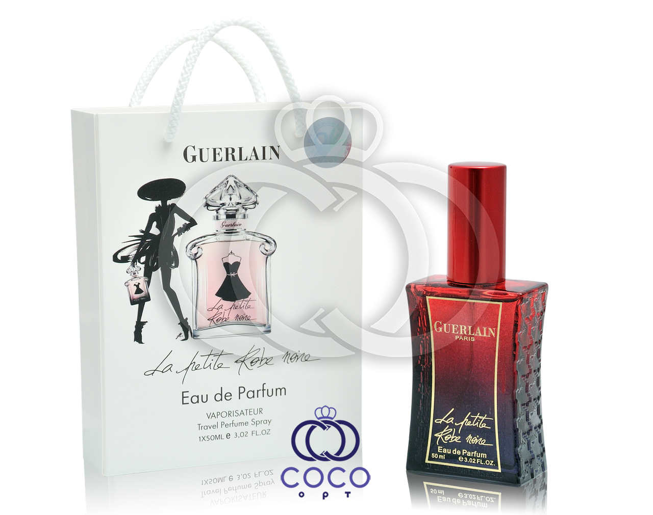 Женская парфюмированная вода Guerlain La Petite Robe Noir в подарочной упаковке 50 мл