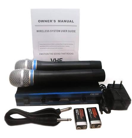 Радиосистема Sennheiser EW100:база + 2 микрофона, фото 2