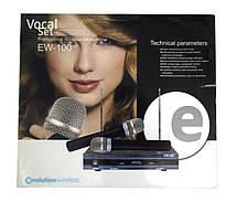 Радиосистема Sennheiser EW100:база + 2 микрофона, фото 3