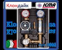 Icma Насосная группа с фиксируемой регулировкой с насосом UPS 25/65 правая