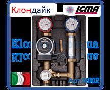 Насосная группа Icma с фиксируемой регулировкой с насосом UPS 25/65 правая